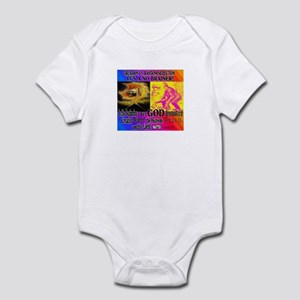 IN THE BEGINNING: IT'S A NO B Infant Bodysuit