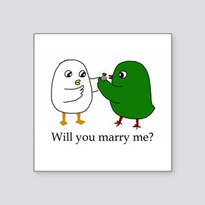 Will you marry me? Sticker