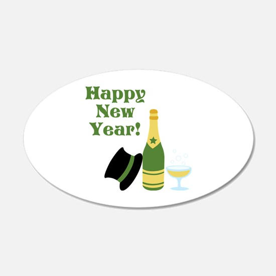Happy New Year! Wall Decal