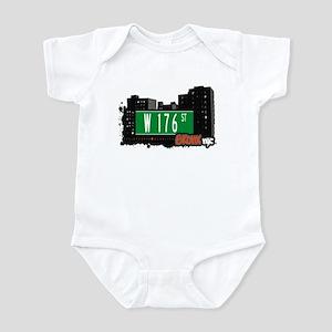 W 176 St, Bronx, NYC Infant Bodysuit
