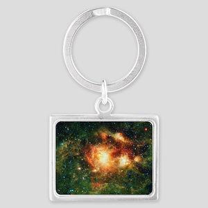 Space Landscape Keychain
