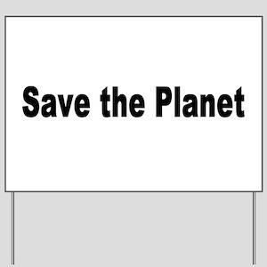 planet2 Yard Sign