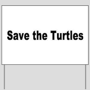 turtles2 Yard Sign