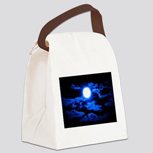Once, In a Blue Moon Canvas Lunch Bag