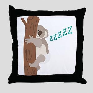 ZZZZZ Throw Pillow