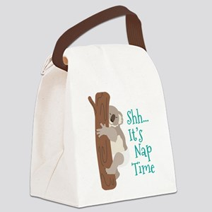 Shh... Its Nap Time Canvas Lunch Bag