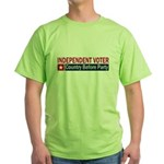 Independent Voter Red Blue Green T-Shirt