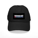 Independent Voter Red Blue Black Cap