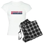 Independent Voter Red Blue Women's Light Pajamas