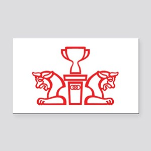 perspolice logo Rectangle Car Magnet