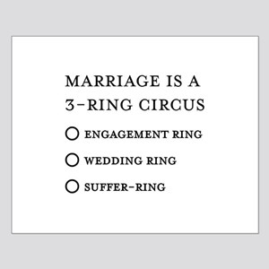 Marriage 3 Rings Small Poster