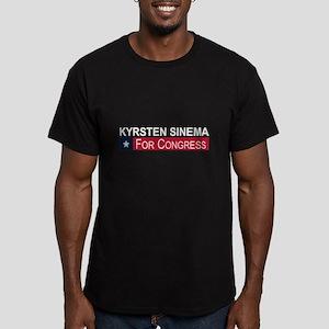 Elect Kyrsten Sinema Men's Fitted T-Shirt (dark)