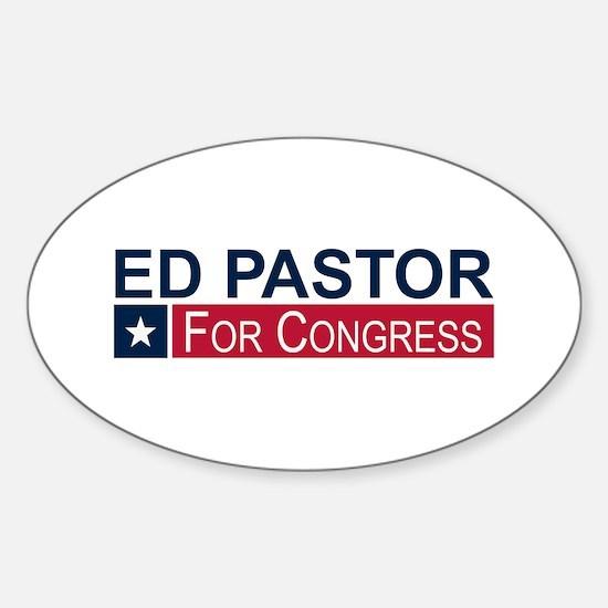 Elect Ed Pastor Sticker (Oval)