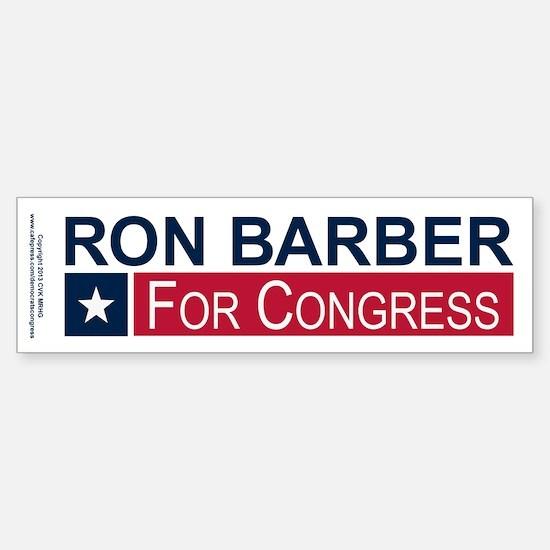 Elect Ron Barber Sticker (Bumper)