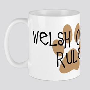 Welsh Corgis Rule Mug