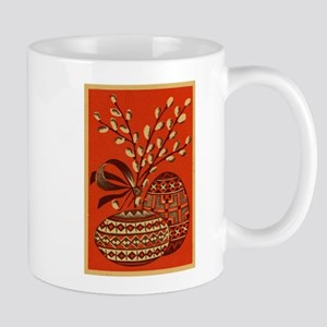 Vintage Russian Easter Card Mugs