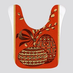 Vintage Russian Easter Card Bib