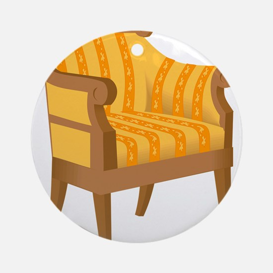 Chair 53 Ornament (Round)