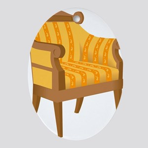 Chair 53 Ornament (Oval)