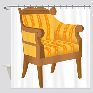 Chair 53 Shower Curtain