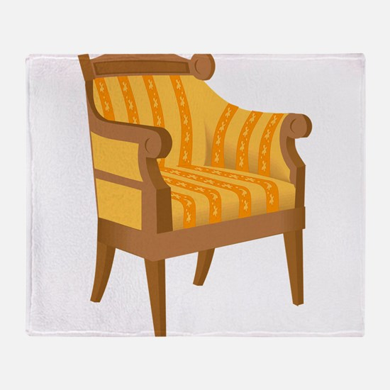 Chair 53 Throw Blanket