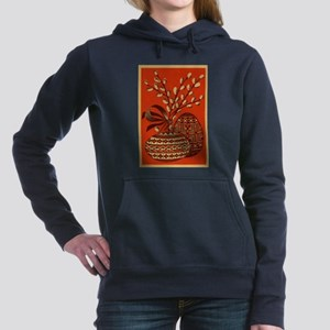 Vintage Russian Easter Card Hooded Sweatshirt