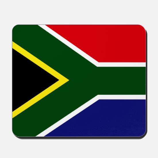 South African flag Mousepad