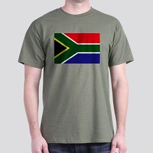 South African flag Dark T-Shirt