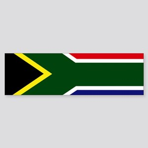 South African flag Bumper Sticker