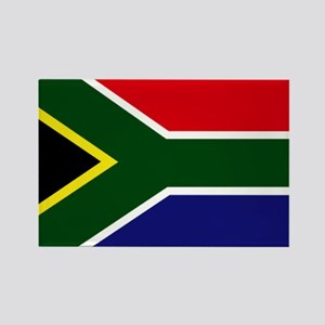 South African flag Rectangle Magnet