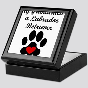 Labrador Retriever Grandchild Keepsake Box