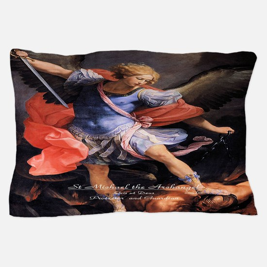 Saint Michael the Archangel Quis ut Deus Pillow Ca
