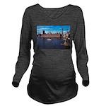 London 8 Long Sleeve Maternity T-Shirt