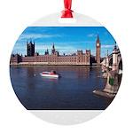 London 8 Round Ornament
