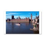 London 8 Car Magnet 20 x 12