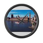 London 8 Large Wall Clock