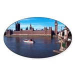 London 8 Sticker (Oval 10 pk)