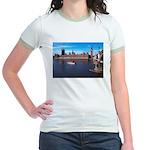London 8 Jr. Ringer T-Shirt