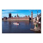 London 8 Sticker (Rectangle)