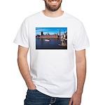 London 8 White T-Shirt