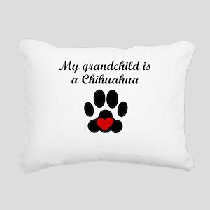 Chihuahua Grandchild Rectangular Canvas Pillow