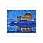 Castle at Christmas Sticker