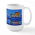 Castle at Christmas Mugs