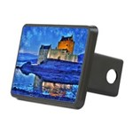 Castle at Christmas Hitch Cover