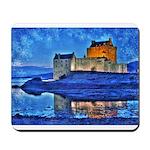 Castle at Christmas Mousepad