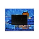 Castle at Christmas Picture Frame