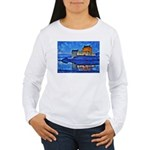 Castle at Christmas Long Sleeve T-Shirt