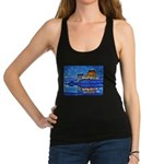 Castle at Christmas Racerback Tank Top