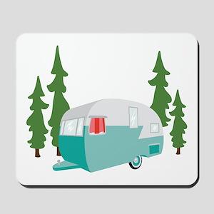 Camper Scene Mousepad