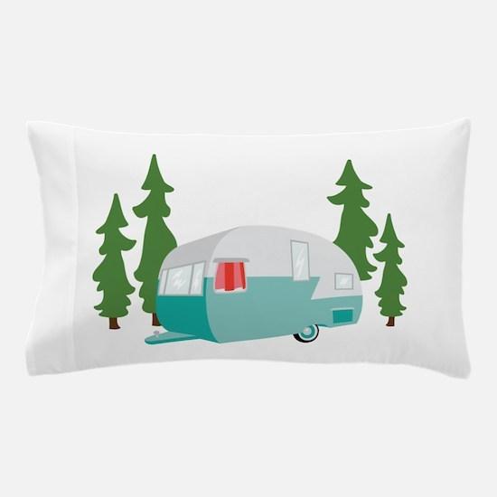 Camper Scene Pillow Case